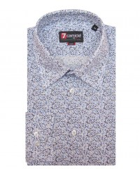 Shirt Romeo Poplin WhiteLite Blue