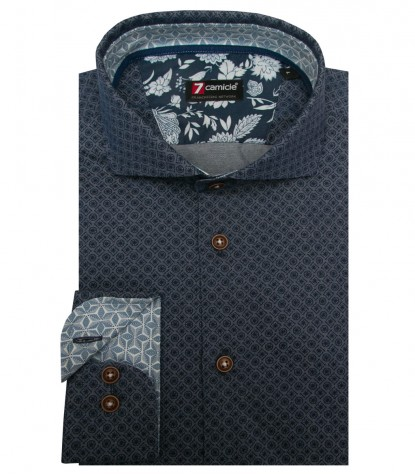 Shirt Firenze Jeans Light BlueBlue