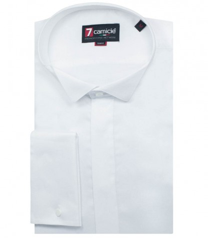 Shirt Milano Satin White