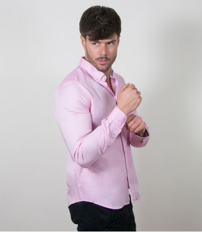 Shirt Leonardo Super oxford Pink