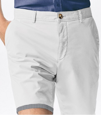 White Bermuda Shorts