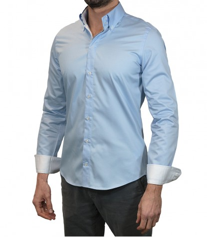 Shirt Roma Light Blue