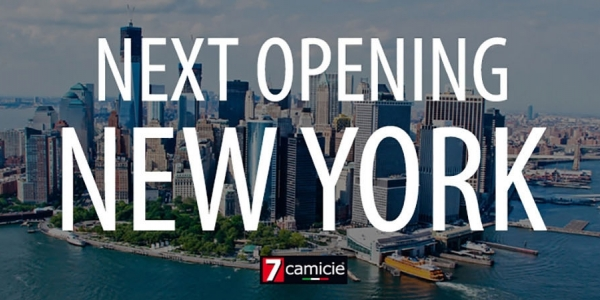 New opening: 7camicie in New York