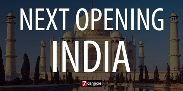 7camicie arrives in India!