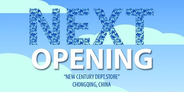 7camicie franchising network, new opening in China